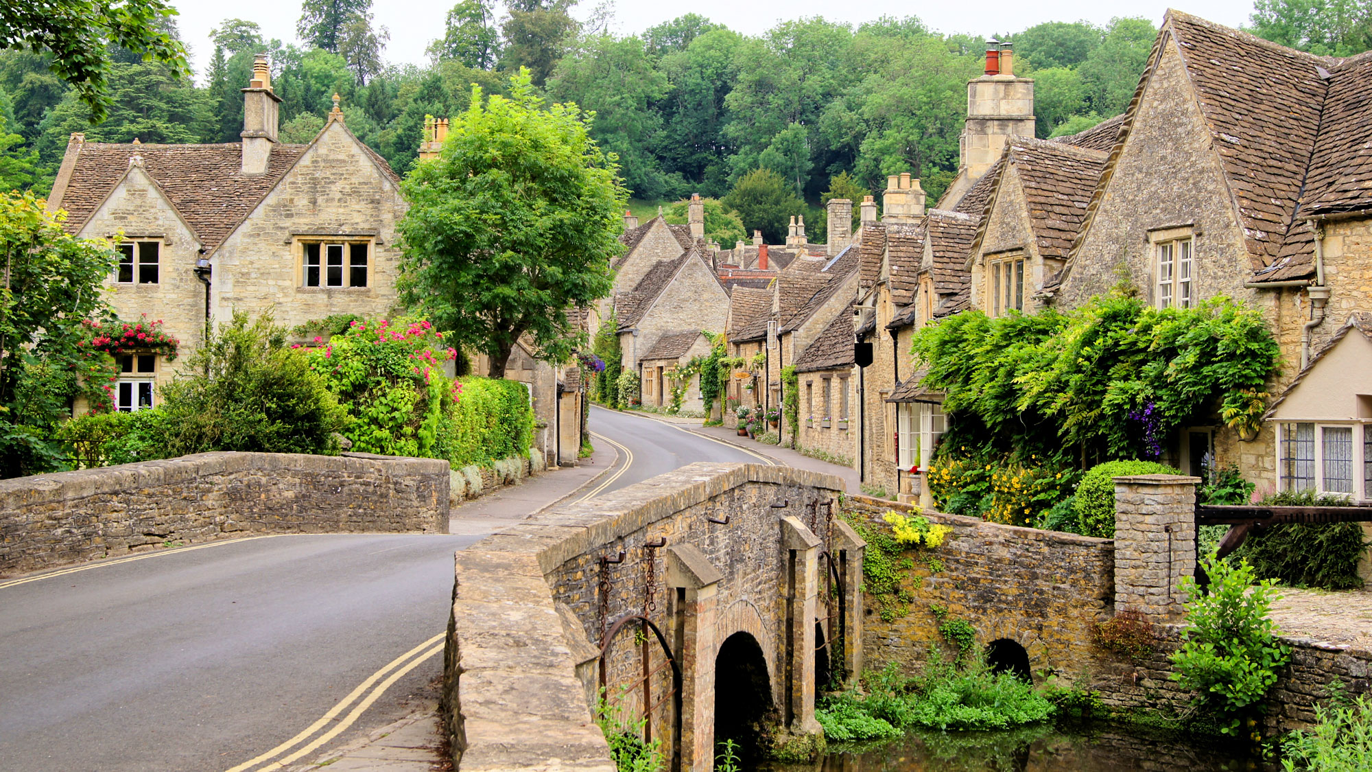 Beside the horses, you can enjoy the rich beauty of the Cotswolds